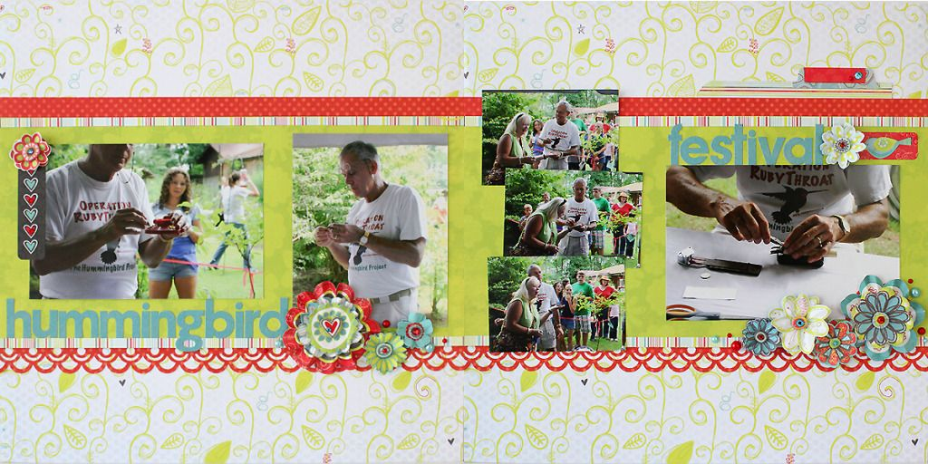 Quick & Easy 2 page layout! @Juliana Michaels #bobunny #scrapbooking