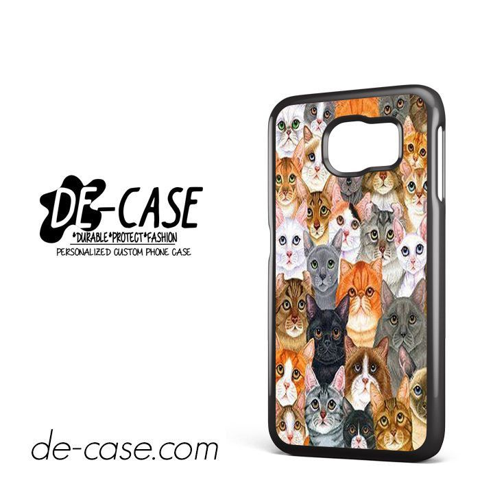 Cat Collage DEAL-2444 Samsung Phonecase Cover For Samsung Galaxy S6 / S6 Edge / S6 Edge Plus