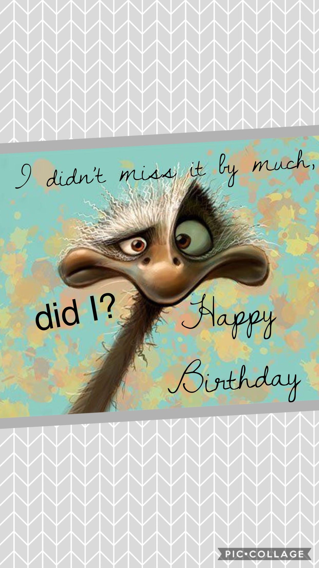 Funny Belated Birthday Quotes - Happy Birthday Wishes