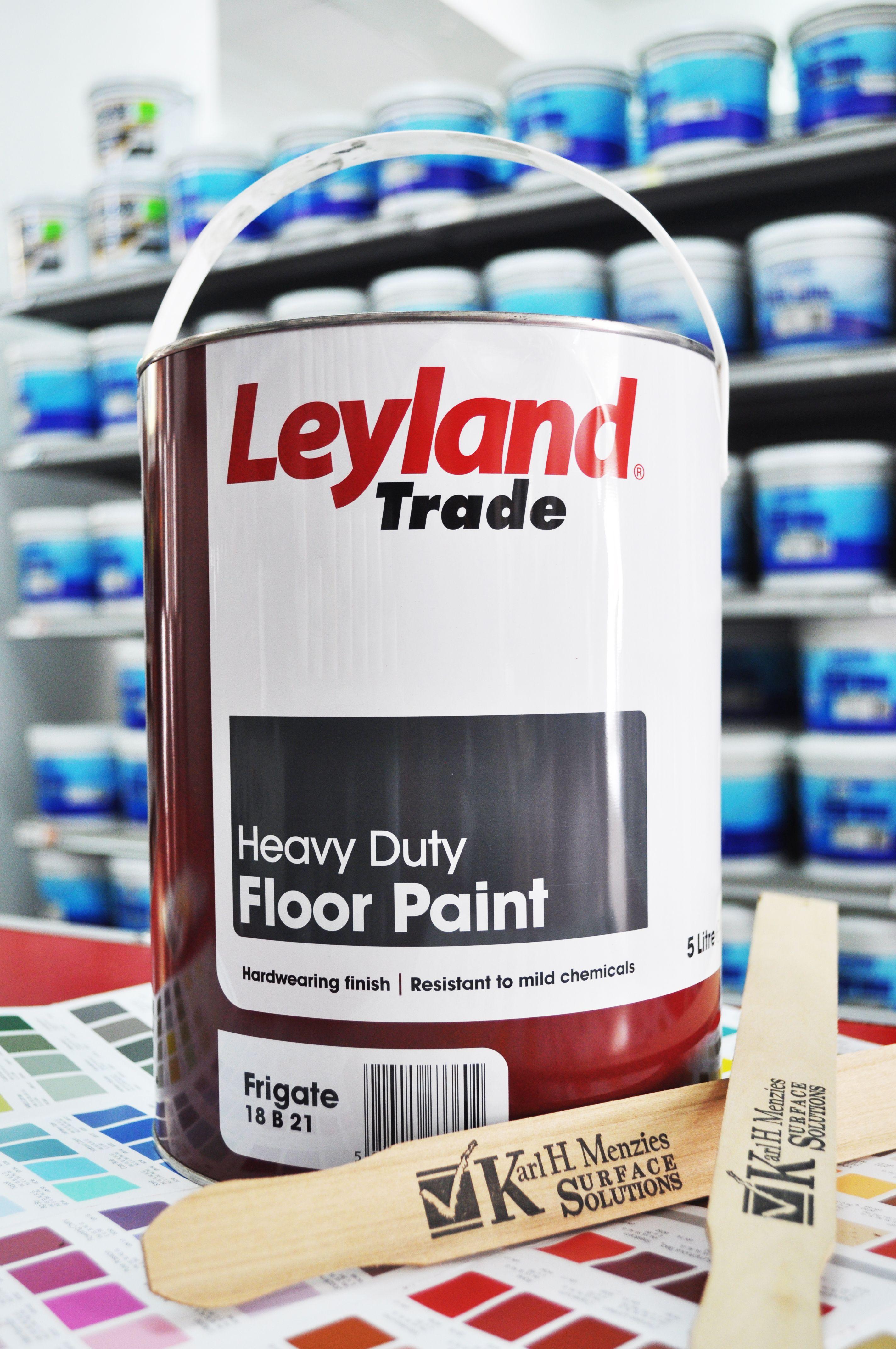 Leyland paints colour chart - Leyland Heavy Duty Floor Paint