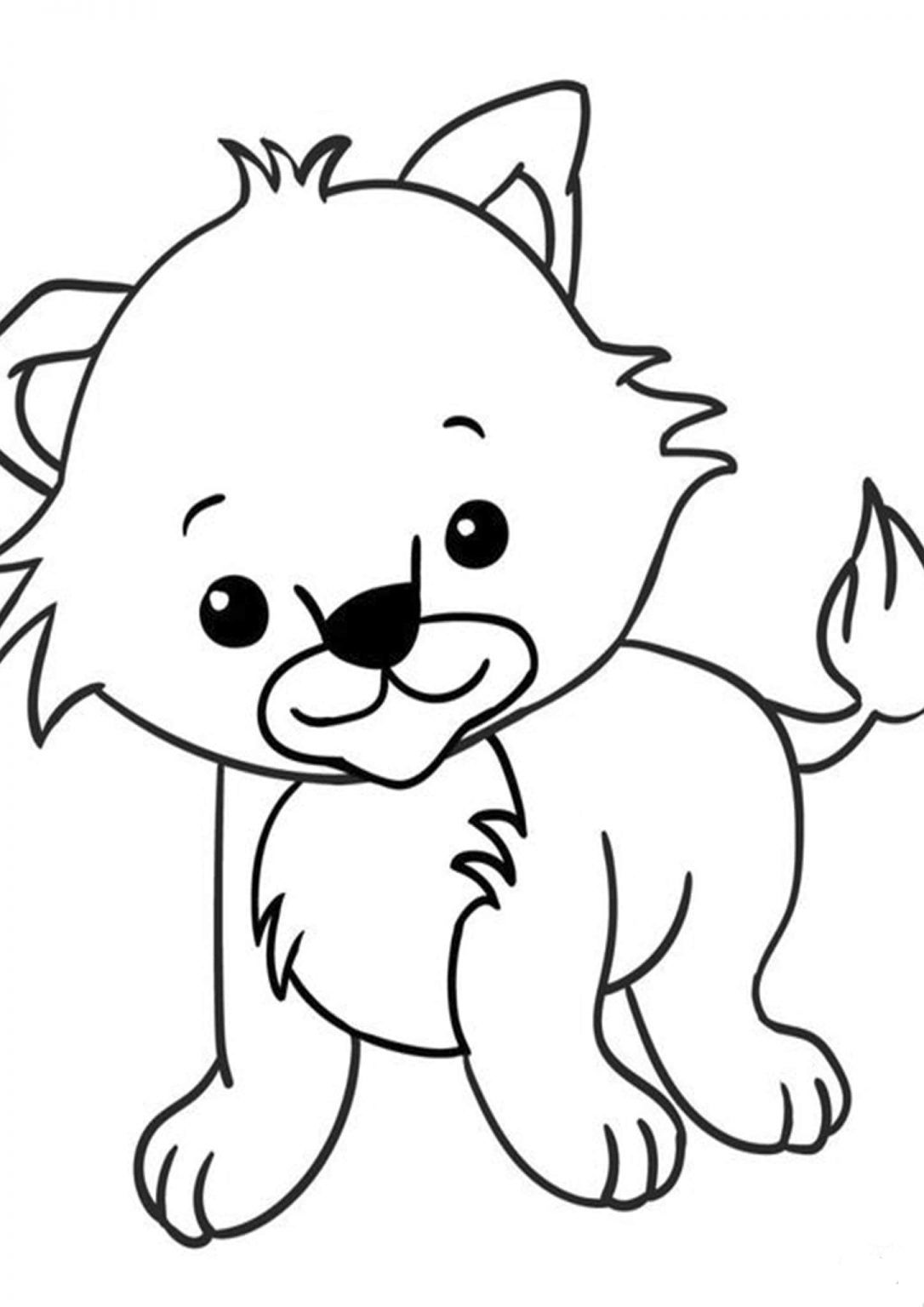 Free Easy To Print Baby Animal Coloring Pages Farm Animal Coloring Pages Animal Coloring Pages Dinosaur Coloring Pages
