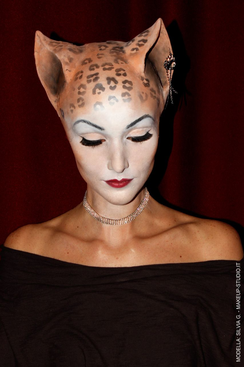 cat makeup realistic prosthetics Google Search Fantasy