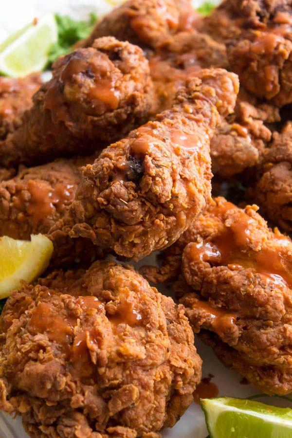 Spicy Buttermilk Fried Chicken Recipe With Images Chicken Recipes Fried Chicken Recipes Buttermilk Fried Chicken