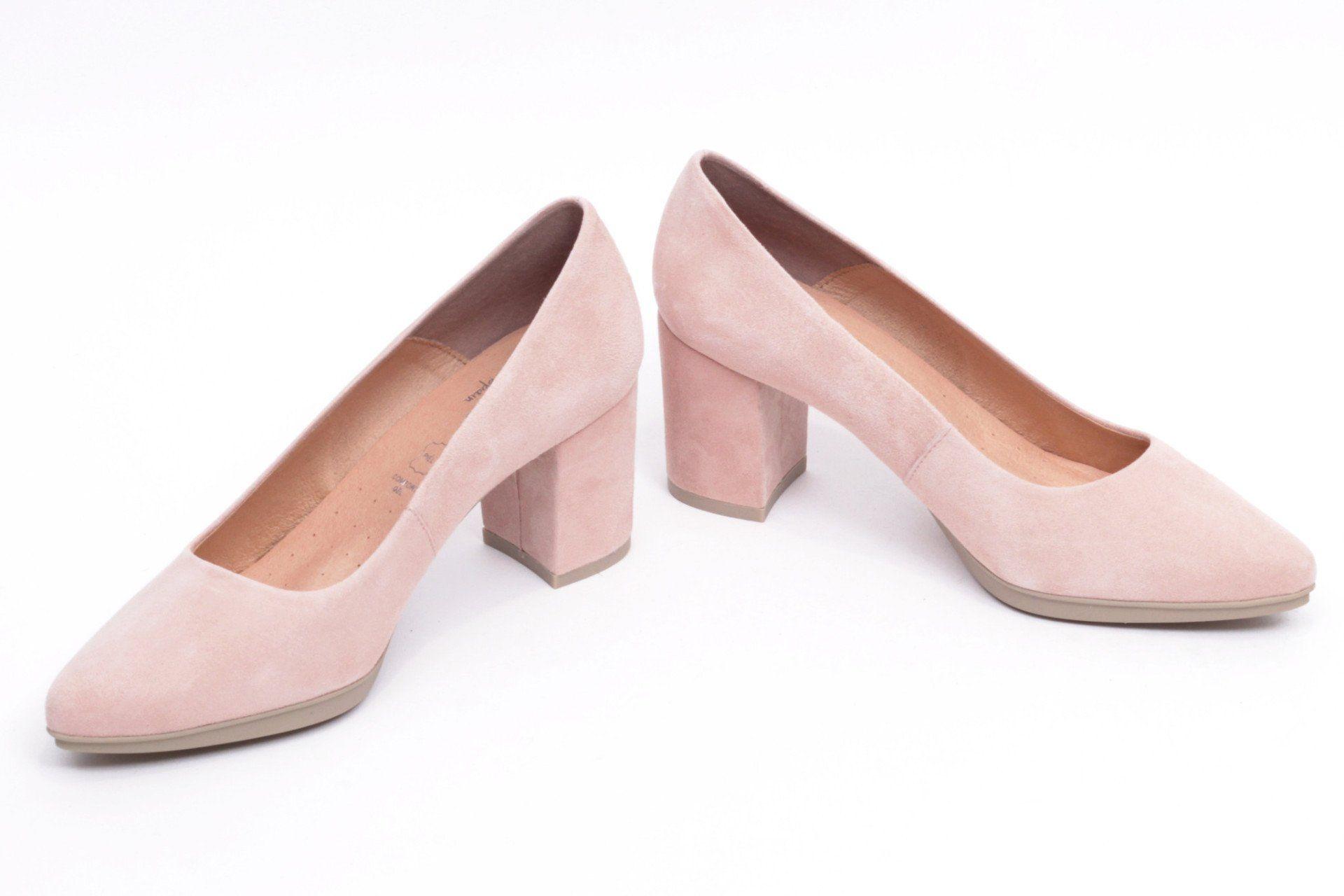 miMaO Urban S Rosa Lady – Zapato mujer salon de tacon rosa vestir cómodo  maquillaje - women high heels shoes sand pink make up color comfort pumps d47b0e6fef6f