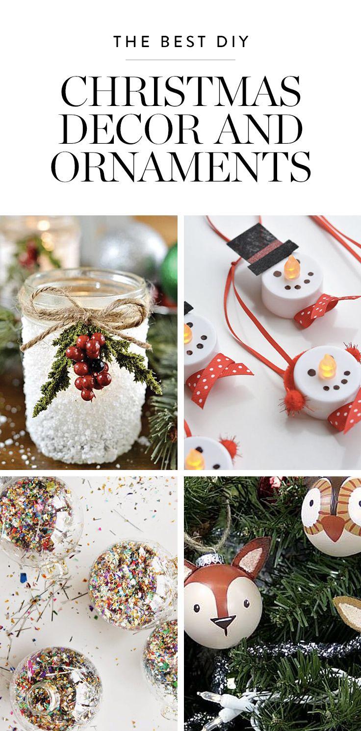 Pretty Christmas Decor You Can Make Yourself Christmas Crafts Decorations Christmas Decorations Pretty Christmas