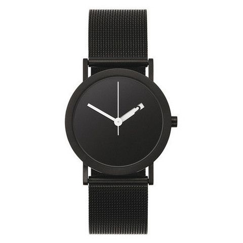Normal timepieces watches — All black Extra normal