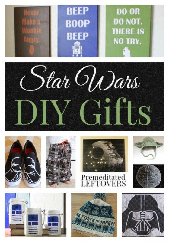 Homemade star wars christmas gifts