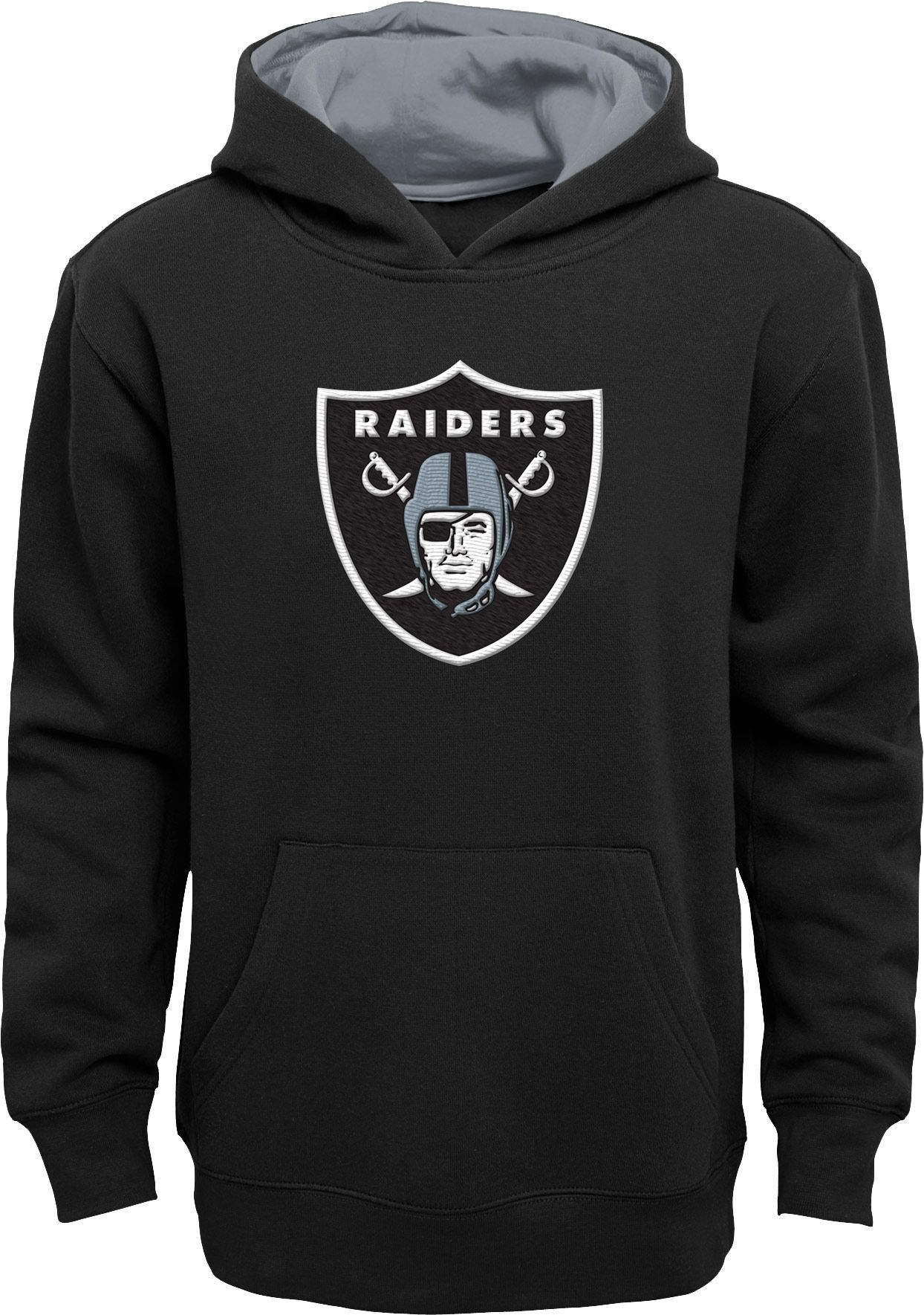49cfbd9f Team Apparel Youth Oakland Prime Black Pullover Hoodie, Size: Medium ...