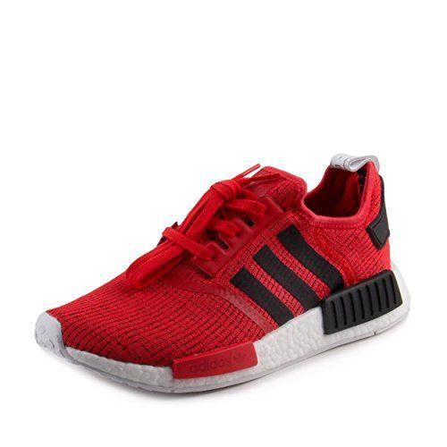 Adidas Men's Black/Red Fabric S... free shipping store 77eDqeUJ