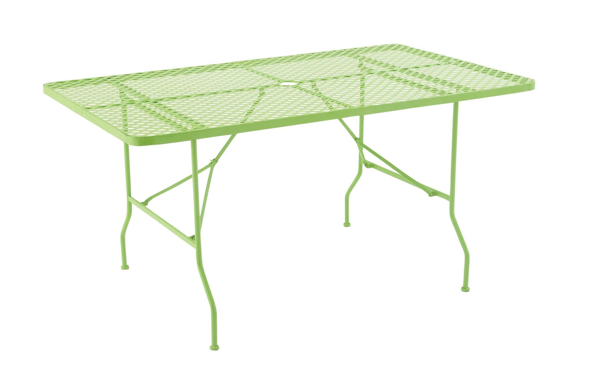 Attractively styled metal folding outdoor table products