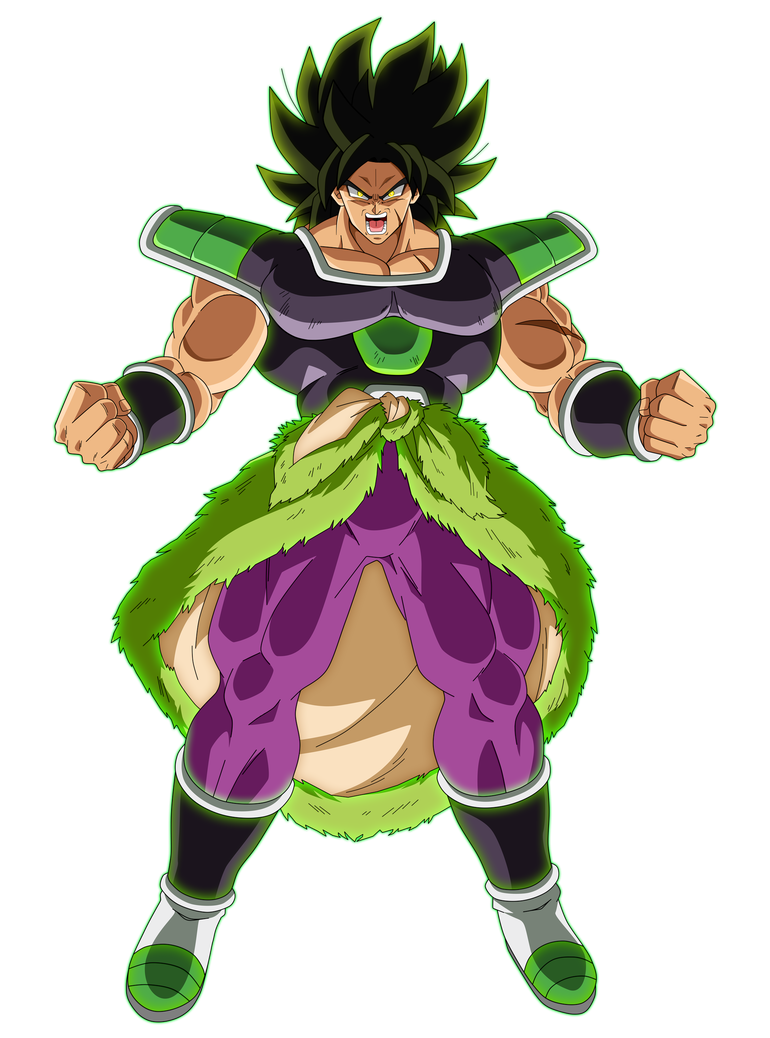 Broly Fury by SaoDVD on DeviantArt