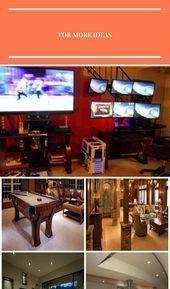 Photo of Rob Schatzs #Gaming Setup #Recreational Room #Recreational Room #Cabinets, #Ca …, #Cabine …