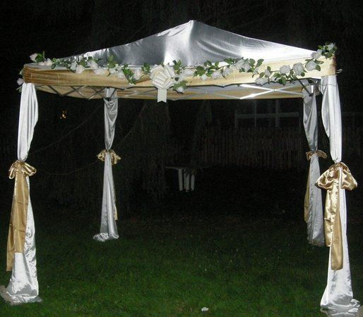 DIY Chuppah/Mandap/Wedding Canopy & DIY Chuppah/Mandap/Wedding Canopy | Wedding canopy Chuppah and ...