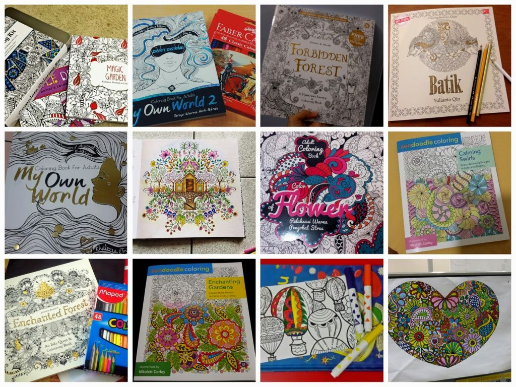 Coloring Book Gramedia