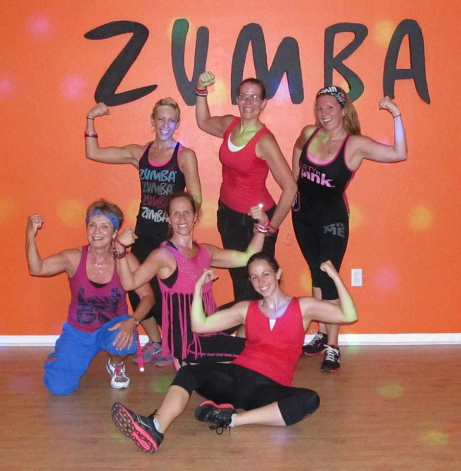 Party In Pink Zumbathon at Curves 2011
