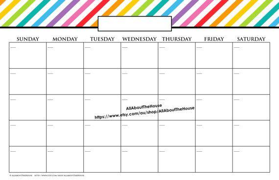 Pin oleh Joko di Business Templates Pinterest Calendar