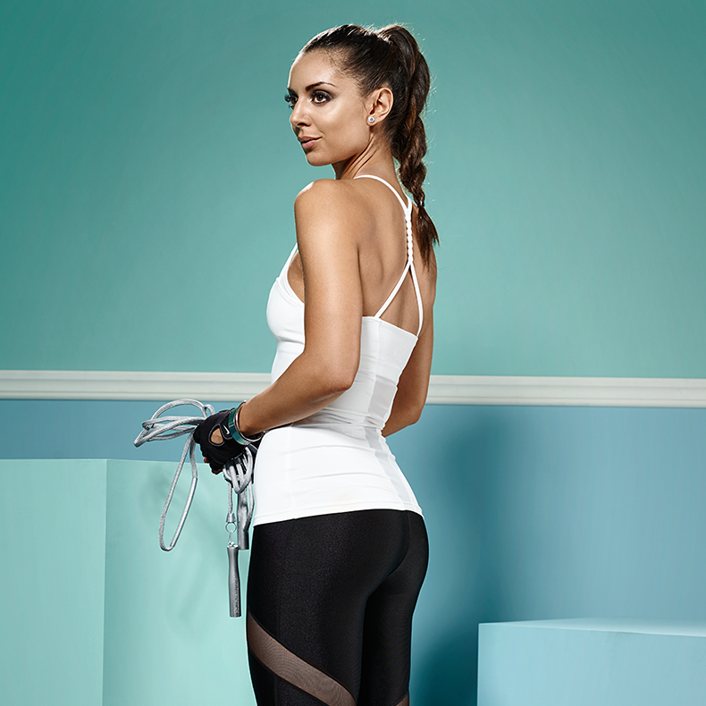 She's back! Fashionablefit's second collection for NLY Sport - stylish #sportswear - newly updated and as fashionable as ever! Shop the new collection here: http://my.nelly.com/link/click/1032 #fashionablefit