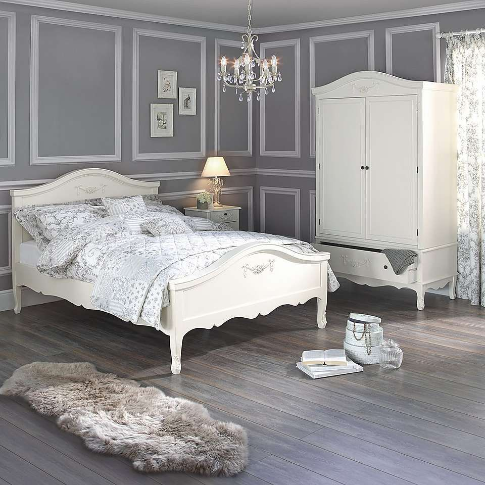 Shabby Chic White Bedroom Furniture Toulouse White Bedroom Collection From Dunelm Living Room