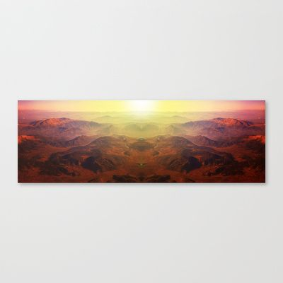Tiger Mountain Stretched Canvas by Margit Urva - $85.00