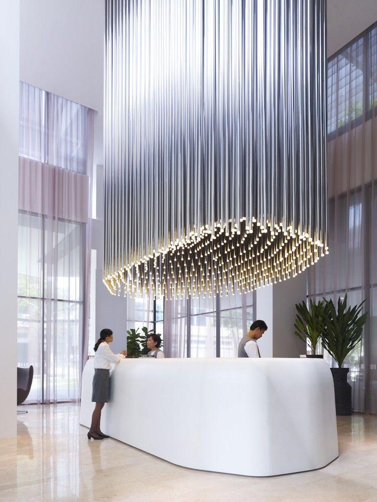 Leuchte- Studio M Hotel | PUR | Pinterest | Studio, Empfang und ...