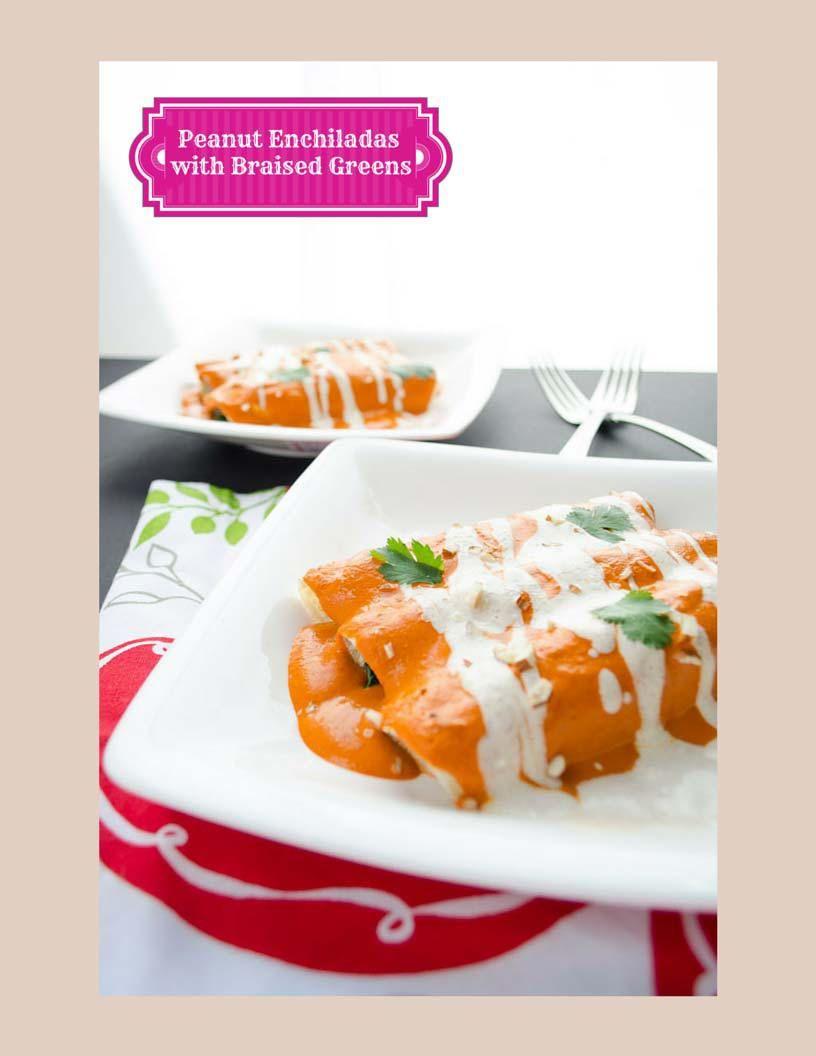 My Vegan Mexican Table a Free eCookbook. It contains 10 brand new recipes: peanut enchiladas, tamarind popsicles, tortilla soup. mole de olla