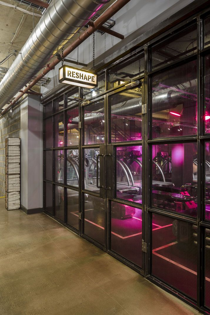 1Rebel Boutique Gym in London by Studio C102 Gym