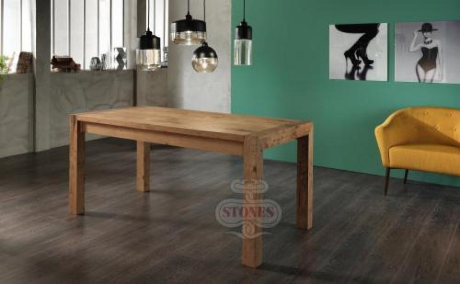Tavolo Stones ~ Tavolo 90x160 allung.240 stones nevada om277ro tavoli e scrivanie