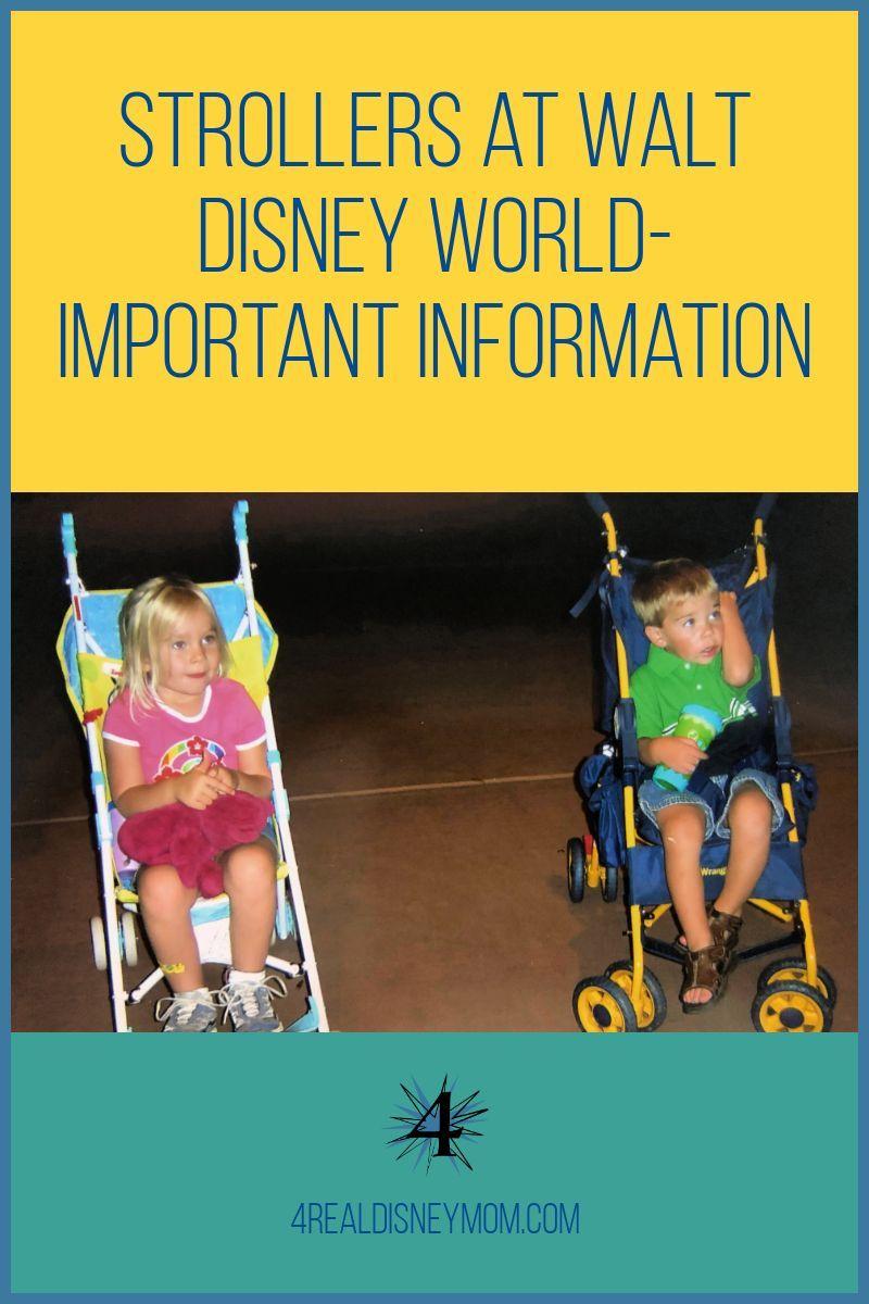 How to pick the Best Stroller for Walt Disney World