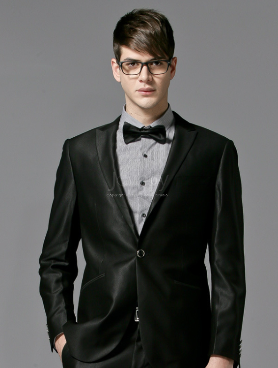 Black Suits For Men Wedding