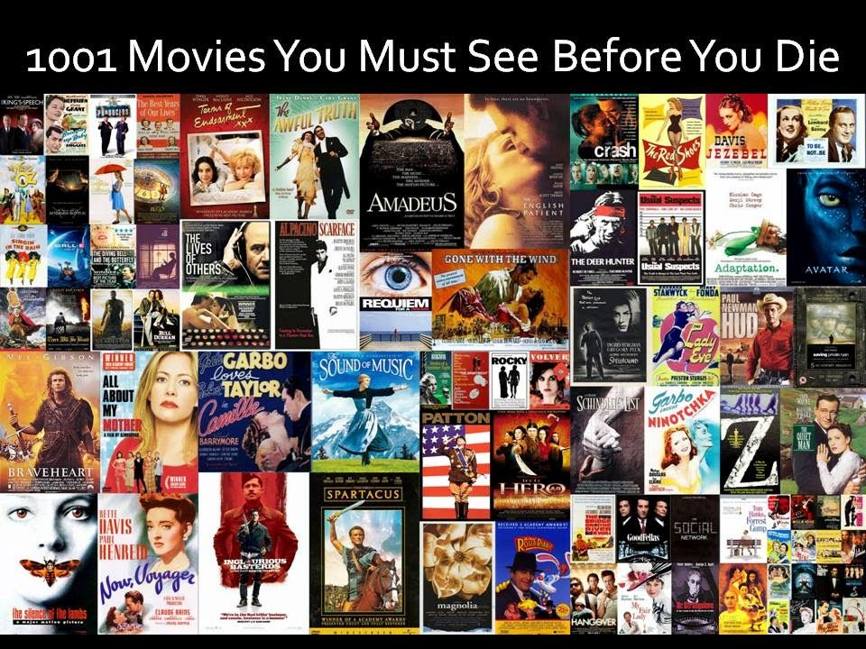 1001 Movies You Must See Before You Die Movies See Movie I Movie