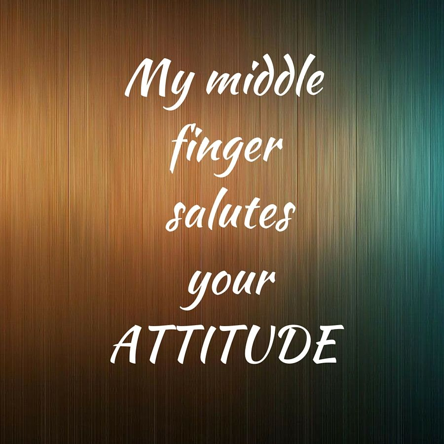 Pin on Quotes On Attitude