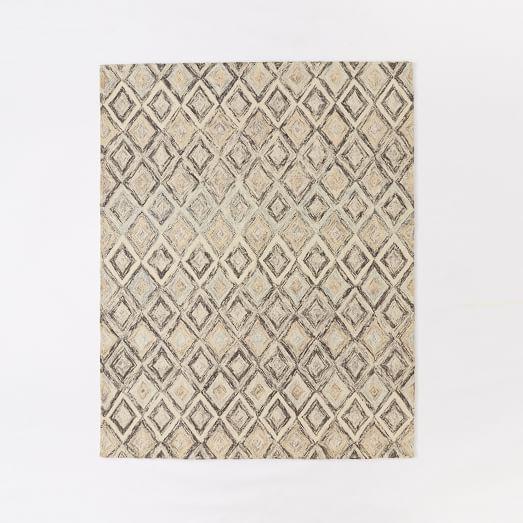 Prism Wool Rug Slate