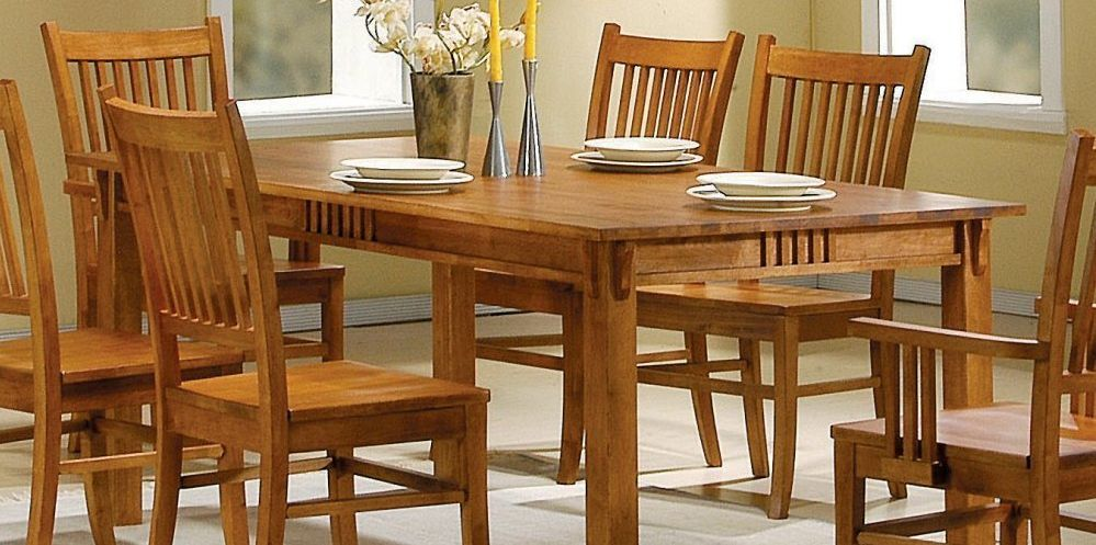 Oak Dining Room Table  Dining Furniture  Pinterest  Oak Dining Stunning Oak Dining Room Furniture Decorating Inspiration