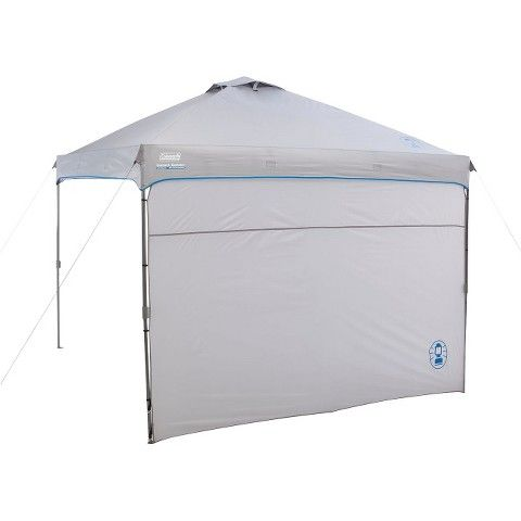 Canopy  sc 1 st  Pinterest & Coleman® Instant Canopy with Sunwall 10u0027x10u0027 - Gray | Instant ...