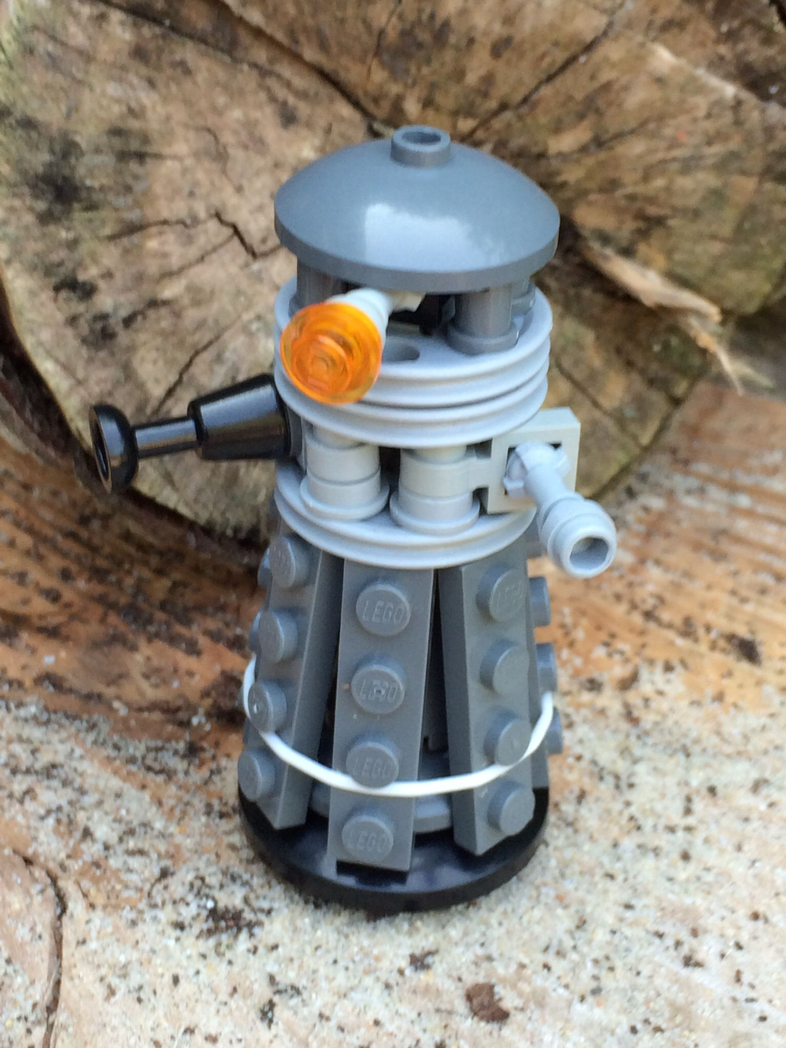Dr.Who Dalek Lego made by Flo