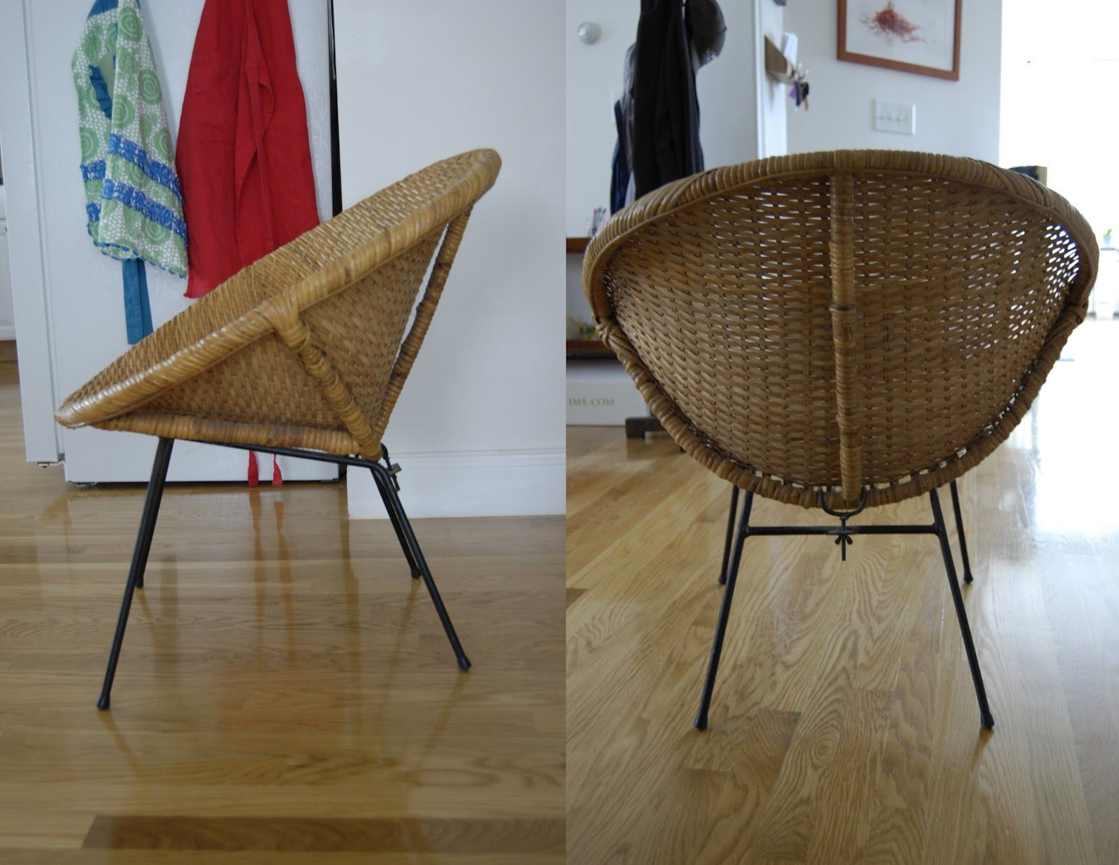 round wicker chair dining table and set uk pieces of anna bargain hunting 1960 s the