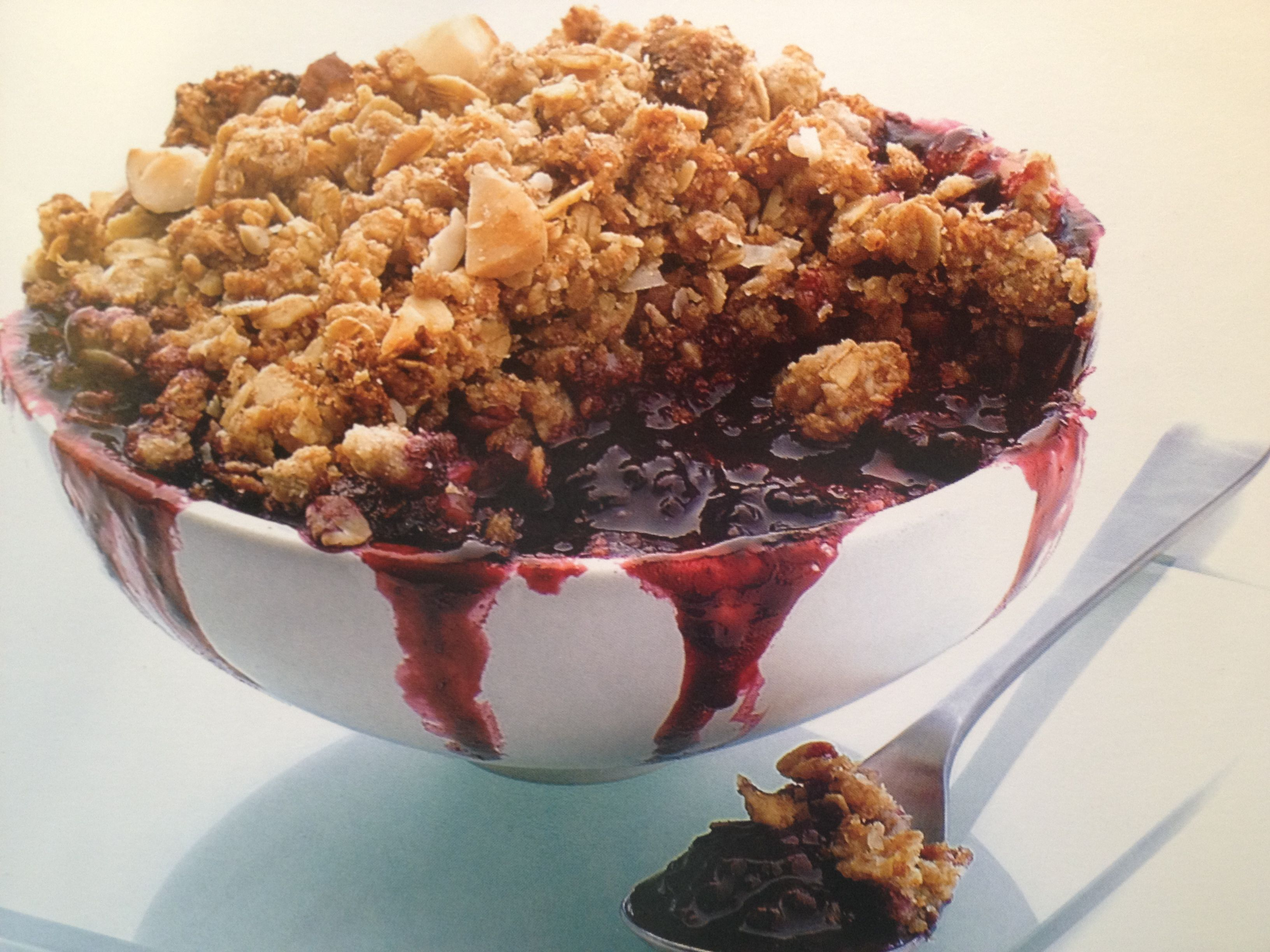 how to turn oil into crumble