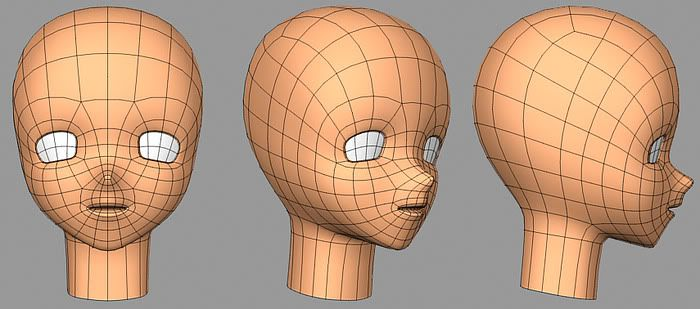 Anime Head Need Tips To Make It Better Page 2 Anime Head Anime Character Modeling