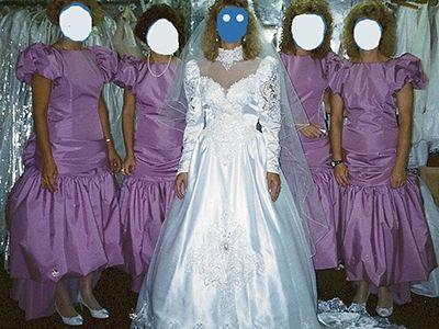 Pin On Vintage Bridesmaids