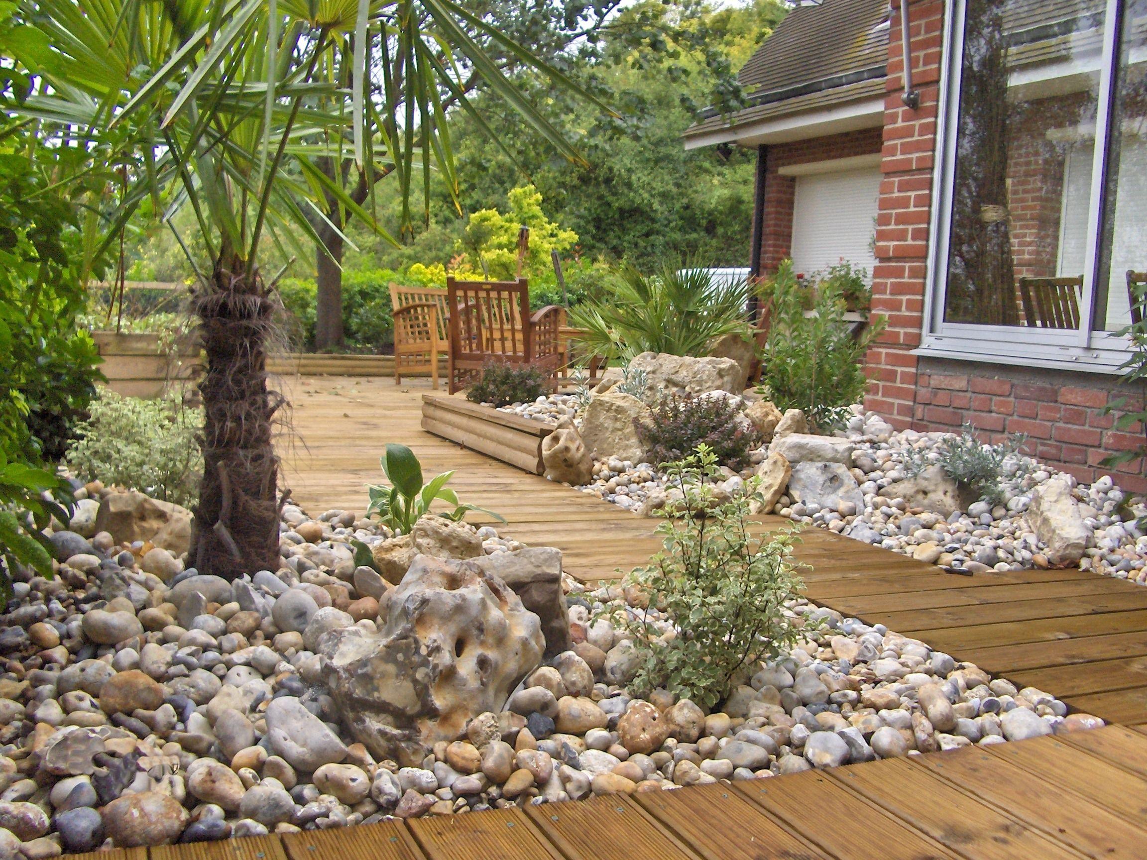 Terrasse en bois Ollivier Jardin Aménagement