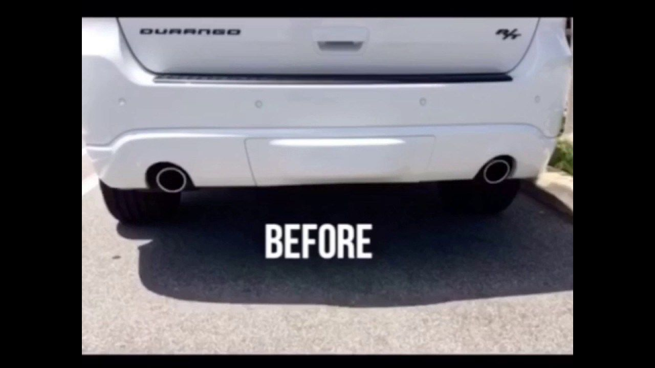 Borla Exhaust In 2017 Dodge Durango R T Waco Texas Dodge Durango Aftermarket Parts Before And After Video Of Borla Catb Dodge Durango 2017 Dodge Durango Dodge