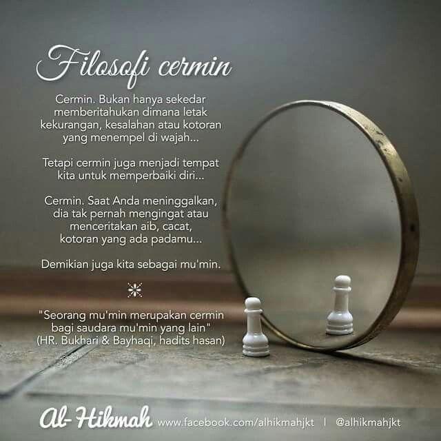 Adakah Kita Sahabat Seperti Cermin Dengan Gambar Bijak