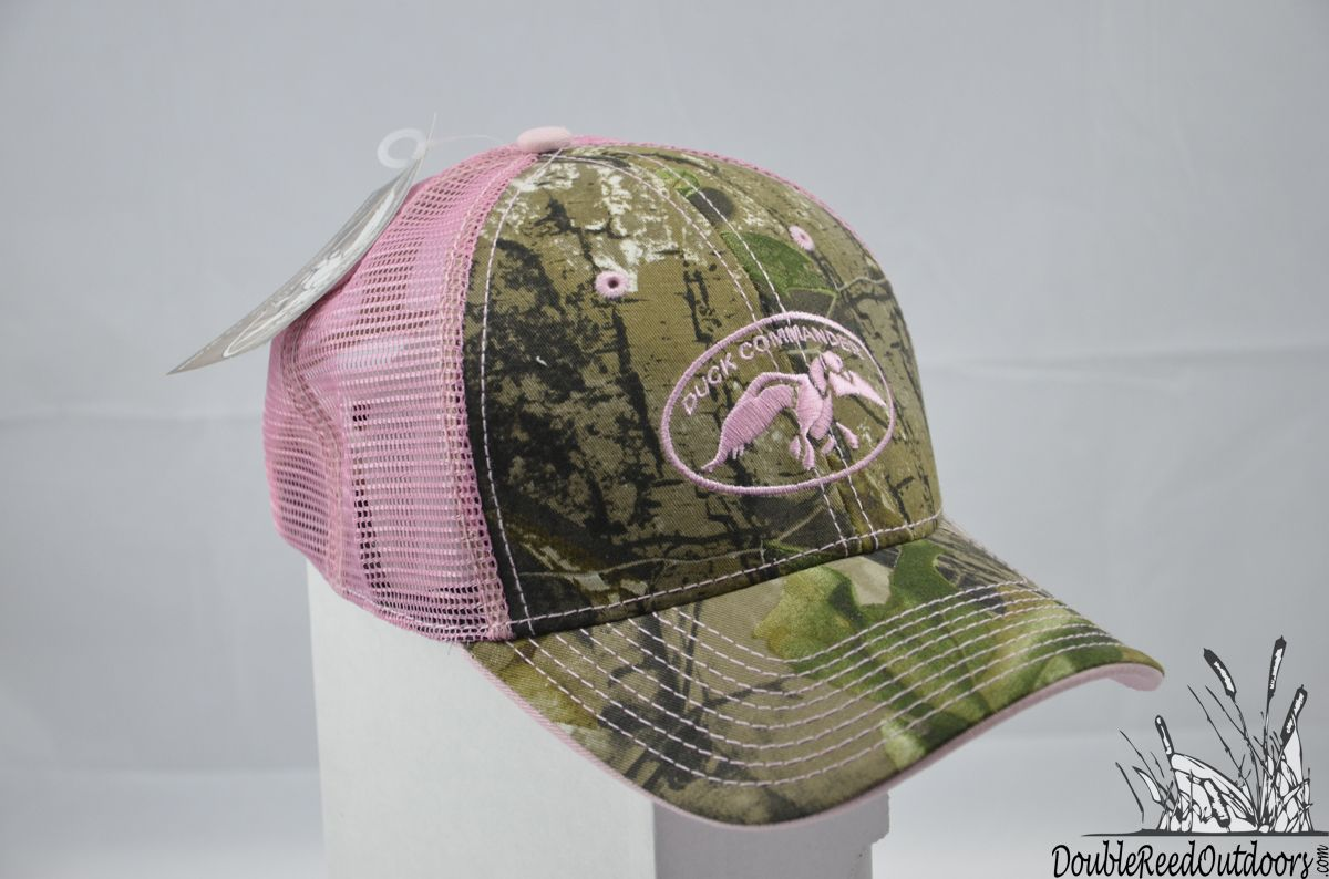 Double Reed Outdoors - Duck Commander Women s RealTree AP Camo and Pink Mesh  Hat bdaabbc74fbb
