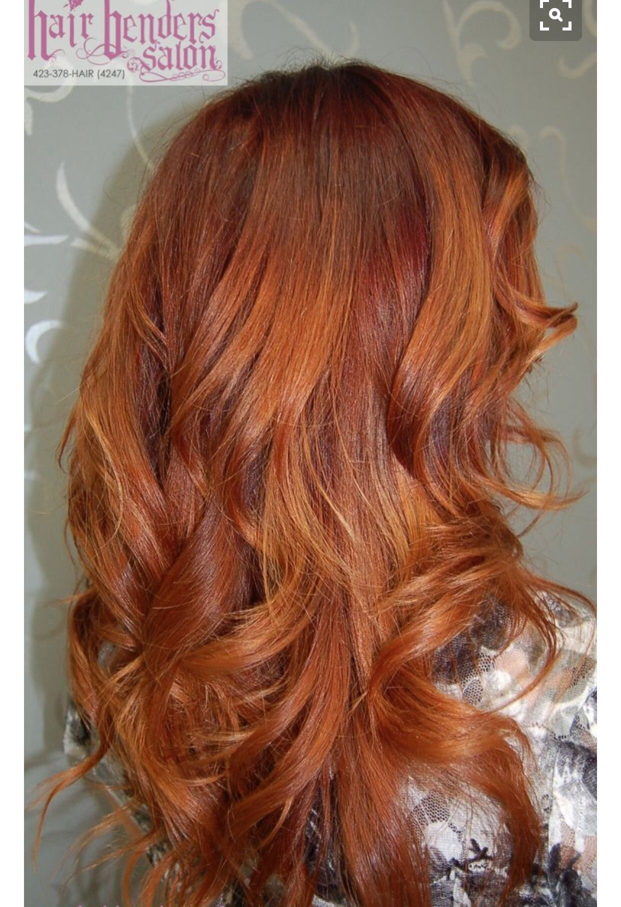 Ruivo Cobre Mechas Ombr 233 Leve In 2019 Red Hair Color Hair Color Hair