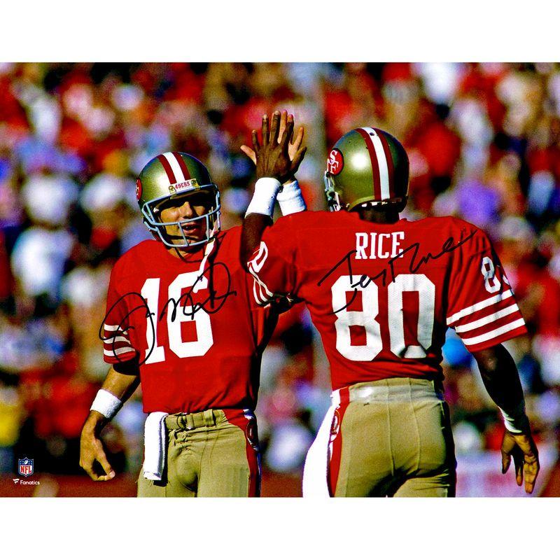 low priced 510b9 9d608 Joe Montana, Jerry Rice San Francisco 49ers Fanatics ...