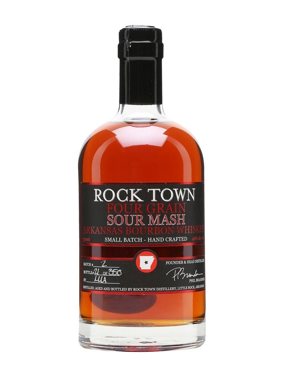 Rock Town Four Grain Sour Mash Bourbon The Whisky Exchange Bourbon Whisky Bourbon Whiskey