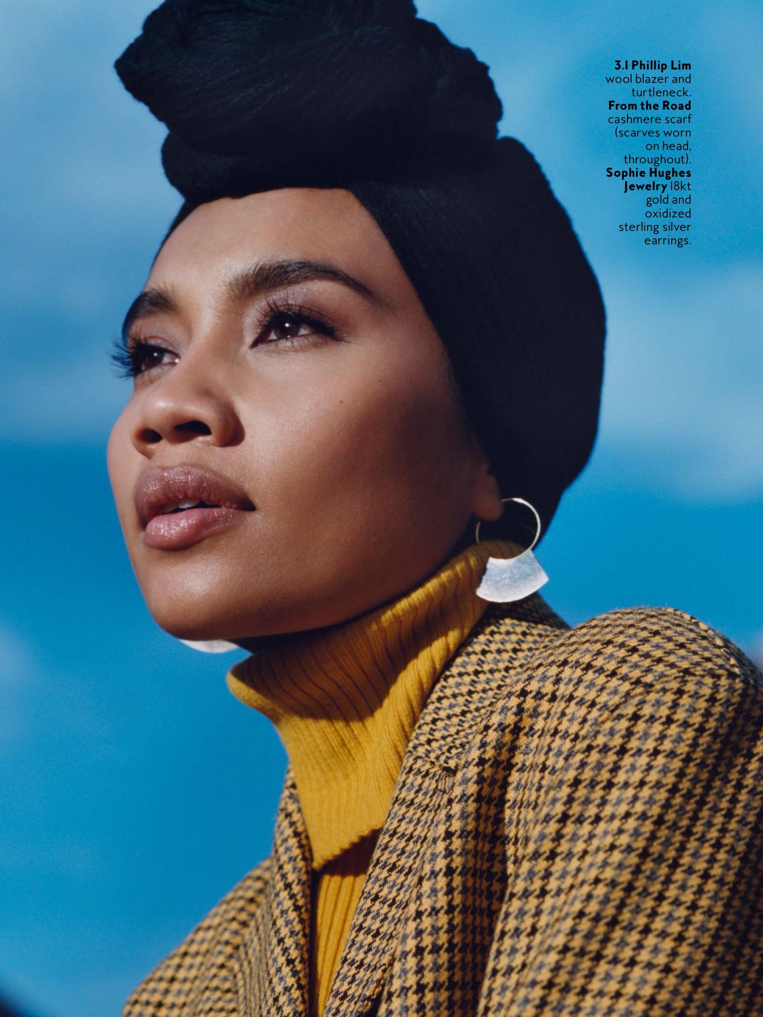 Yuna Zarai, In Style Magazine September 2016 | Fashion ...