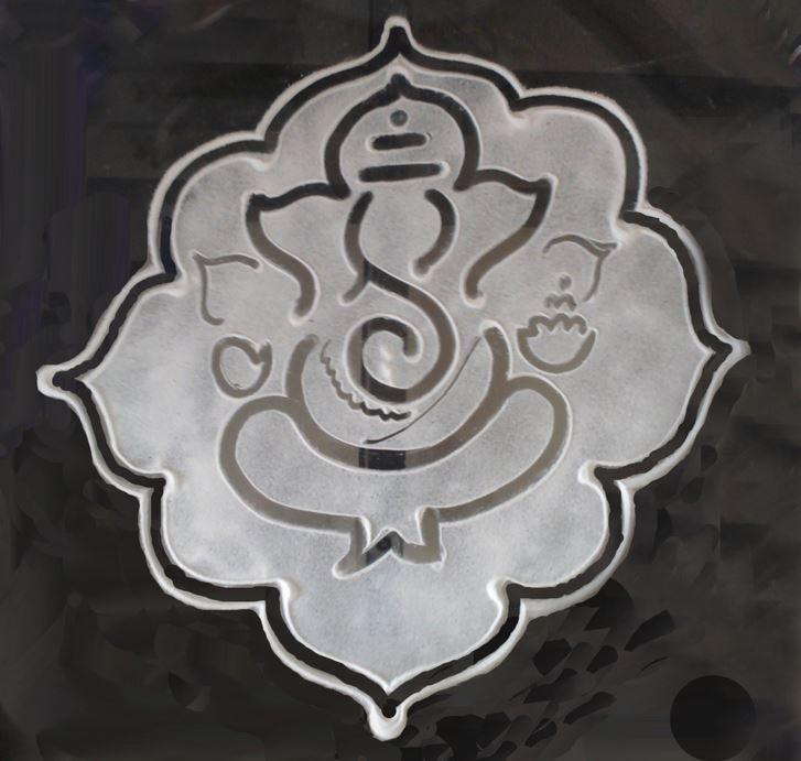 Easy ganesh rangoli designs for diwali also rama rh hu pinterest