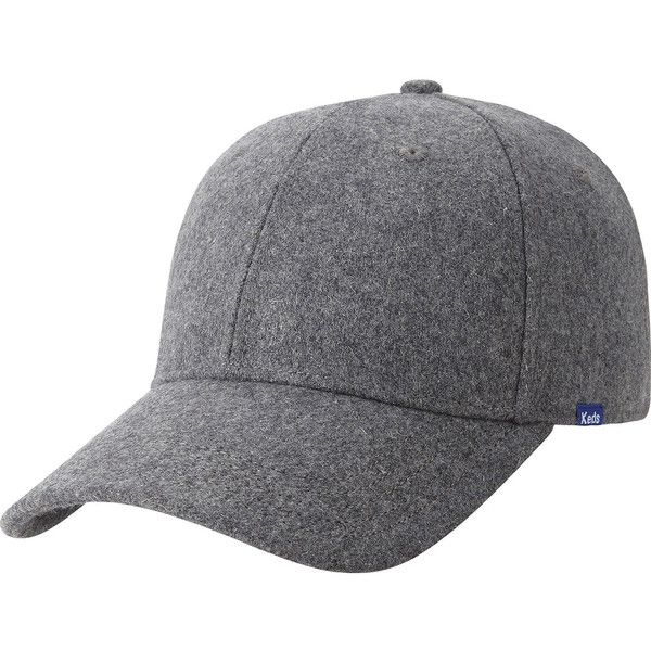 d264cc2df85 Keds Wool Baseball Cap (€24) ❤ liked on Polyvore featuring accessories