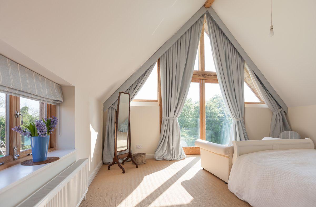 Super Like this - full length windows. attic conversion ideas | Homes  VC53